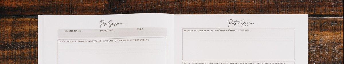 Photo Reflction Journal Top Snip