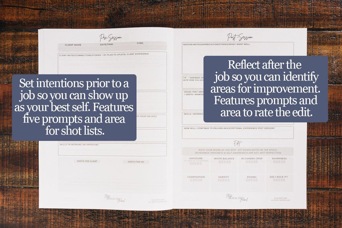 Photo Reflction Journal-session