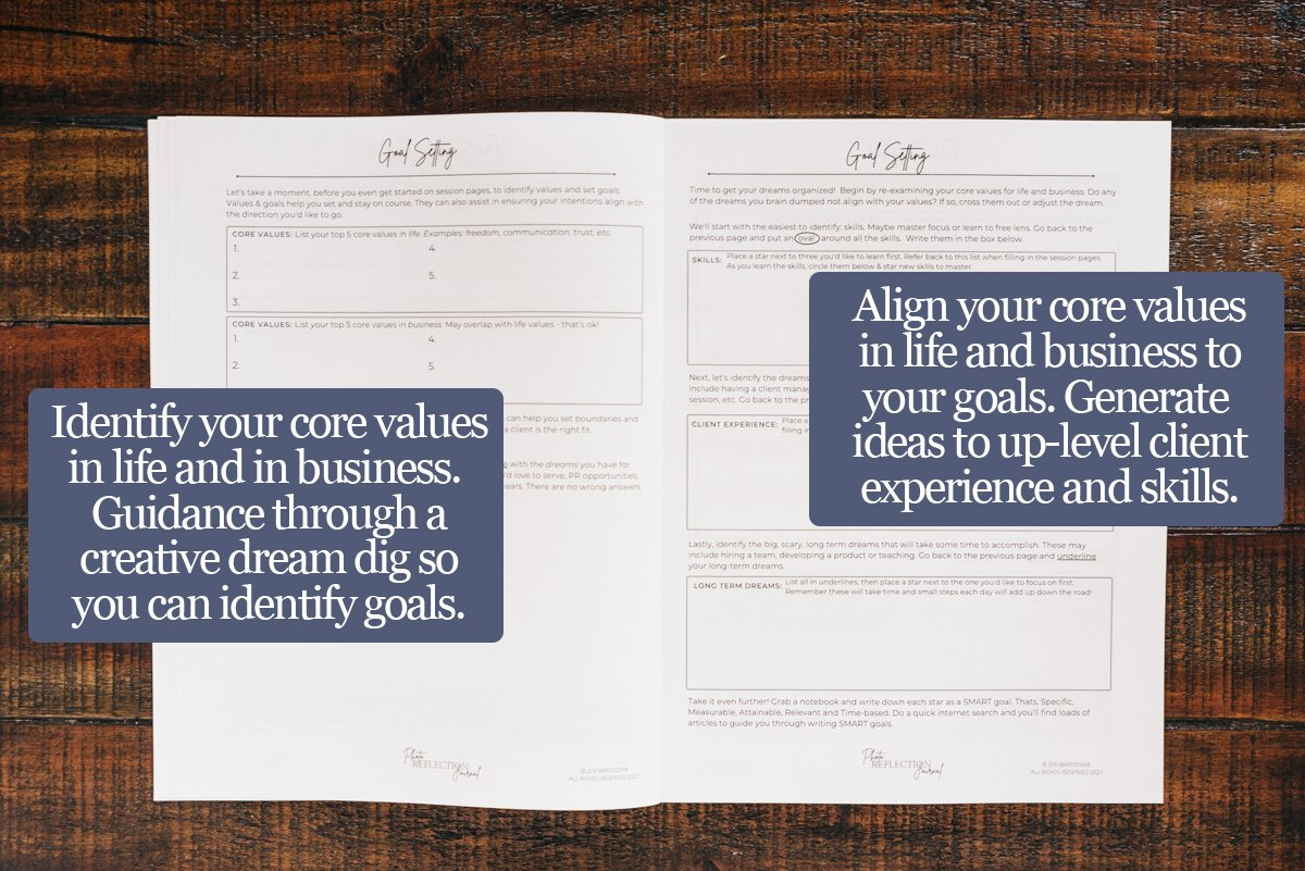 Photo Reflection Journal-Goals