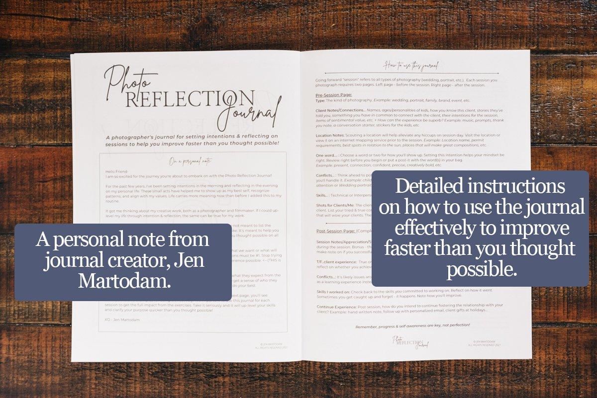 Photo Reflection Journal-Intro